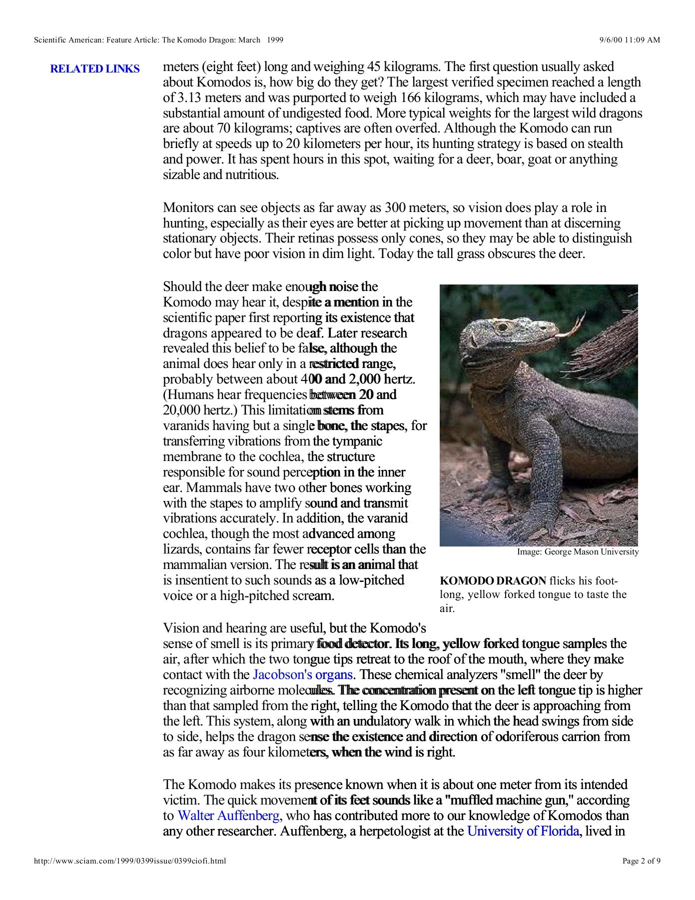 What sounds does the komodo dragon make? - Answers