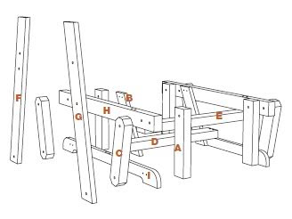 Regina: Woodworking plans glider rocker Guide