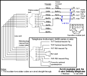 Telephone Wiring | Wiring Circuit Diagram