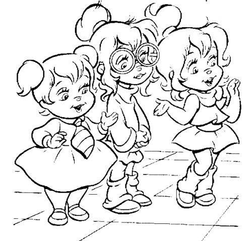 Coloring Pages for Girls: Christmas Coloring Pages