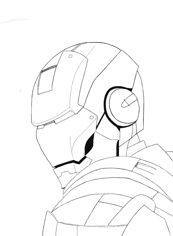 Iron Man Helmet Schematics