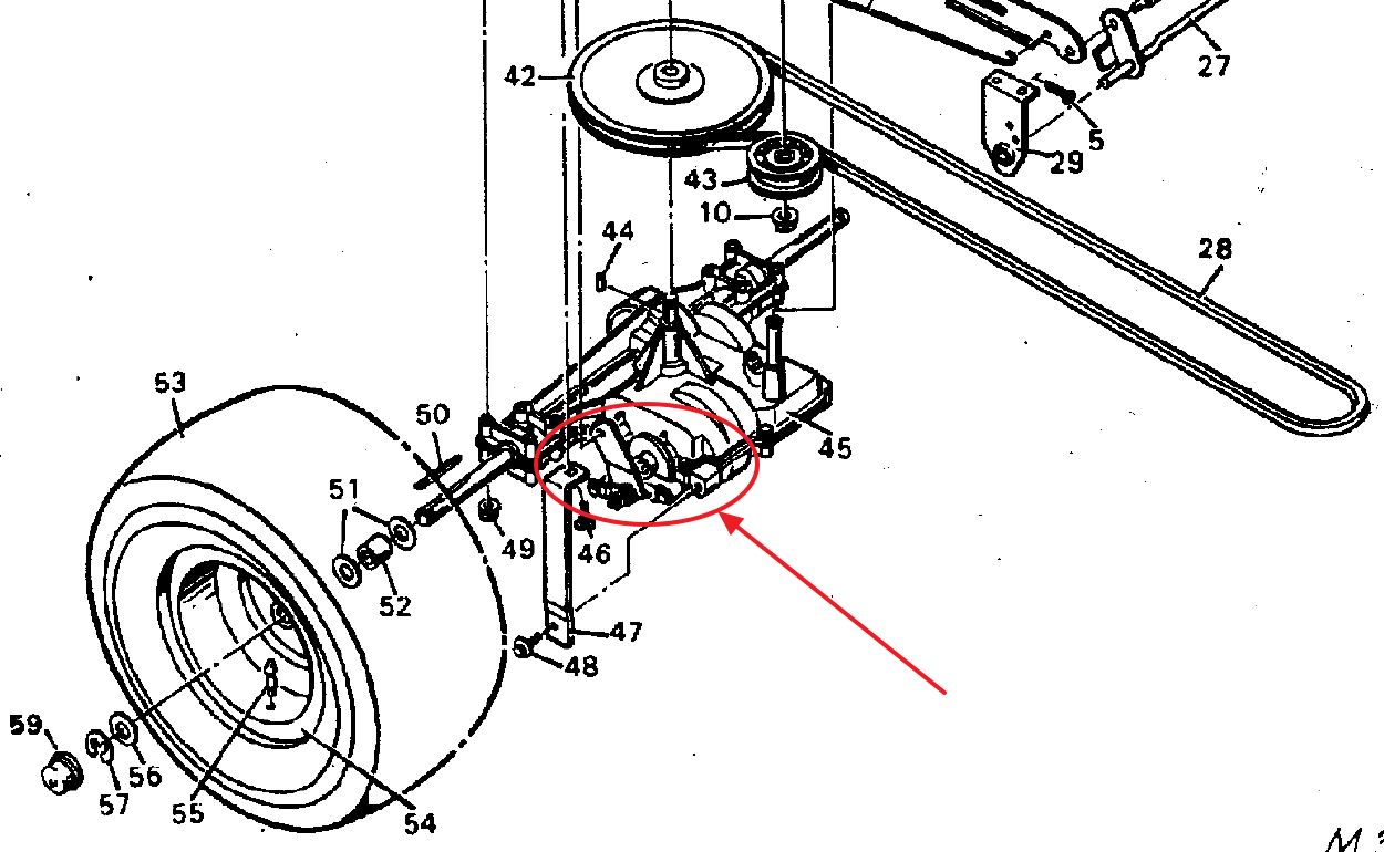 Wiring Diagram: 28 Murray Riding Lawn Mower Brake Diagram