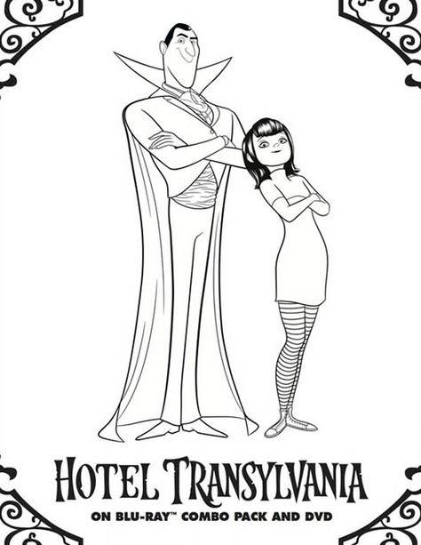 Hotel Transsilvanien Ausmalbilder - Ausmalbilder