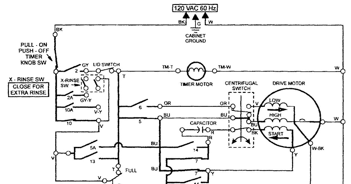 Wiring Diagram For Maytag Dryer