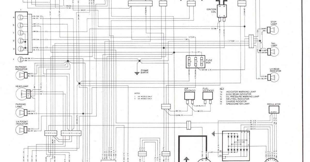 Bmw R 1100 Wiring Diagram