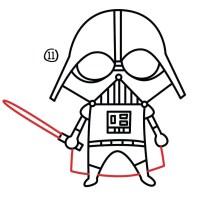 Darth Vader Maske Zeichnen   Malvorlagen Gratis