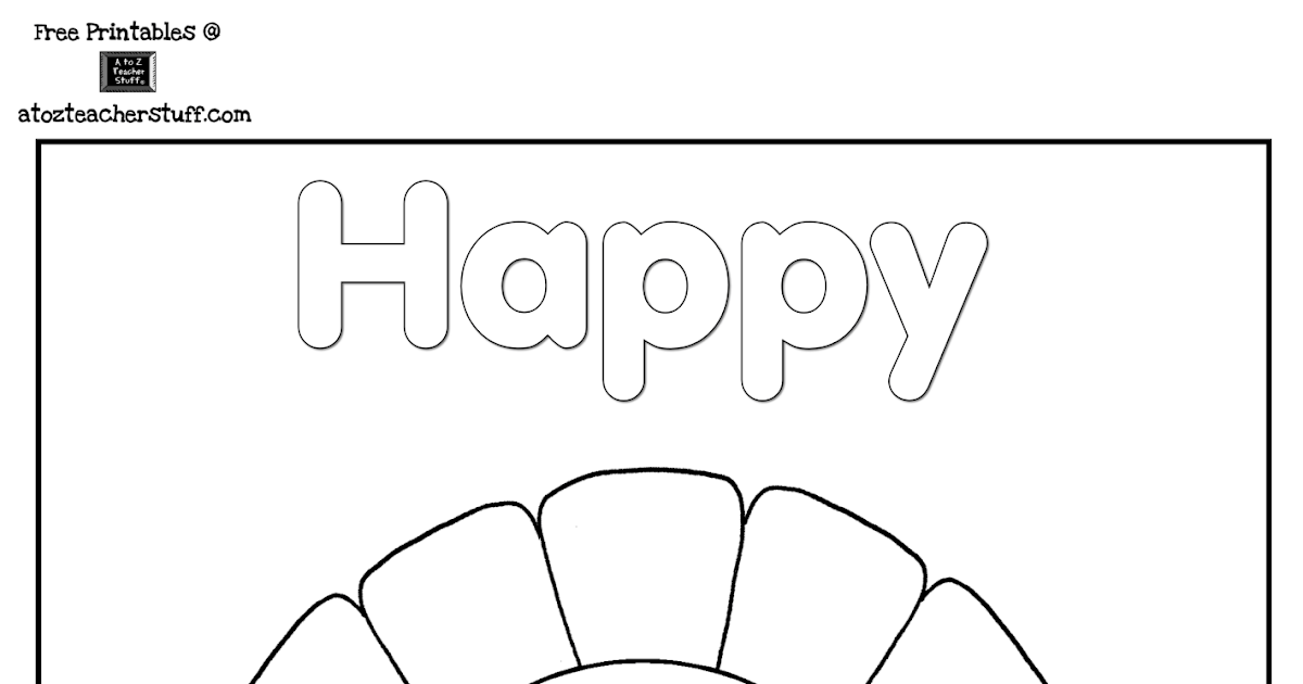 Engaging Lessons And Activities: Free Thanksgiving Turkey