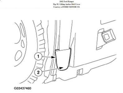 Ford Ranger Door Ajar Sensor