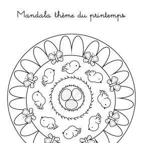 Coloriages Printemps Maternelle