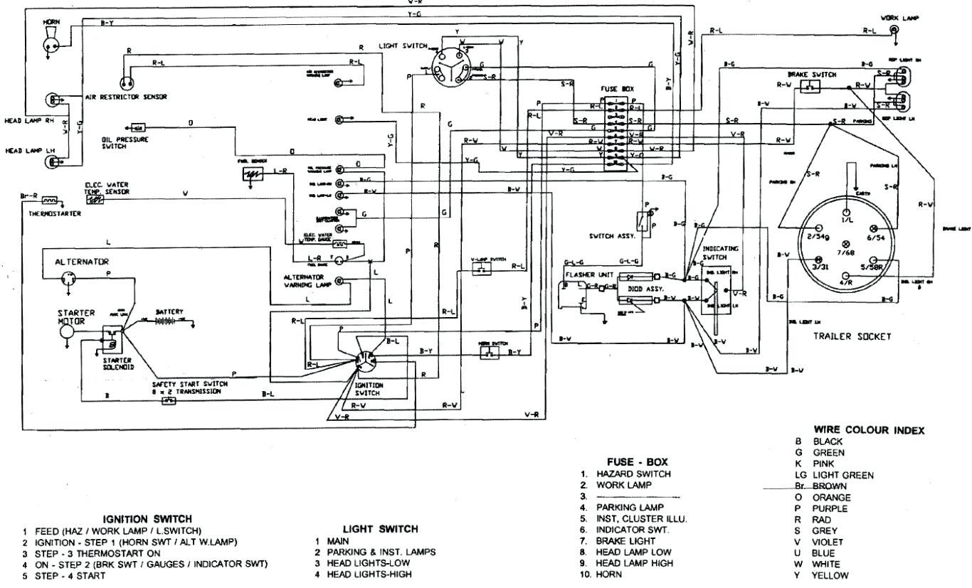 Wiring Manual PDF: 12 Volt Wiring Diagram To20 Ferguson