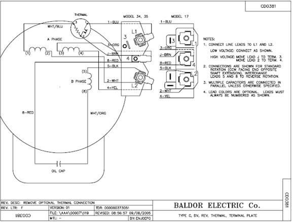 Diagram Database Just The Best, Baldor 10 Hp Motor Capacitor Wiring Diagram