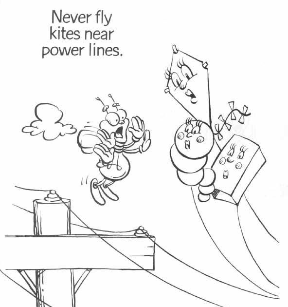 Coloring Pages: Air Conditioner Coloring Page