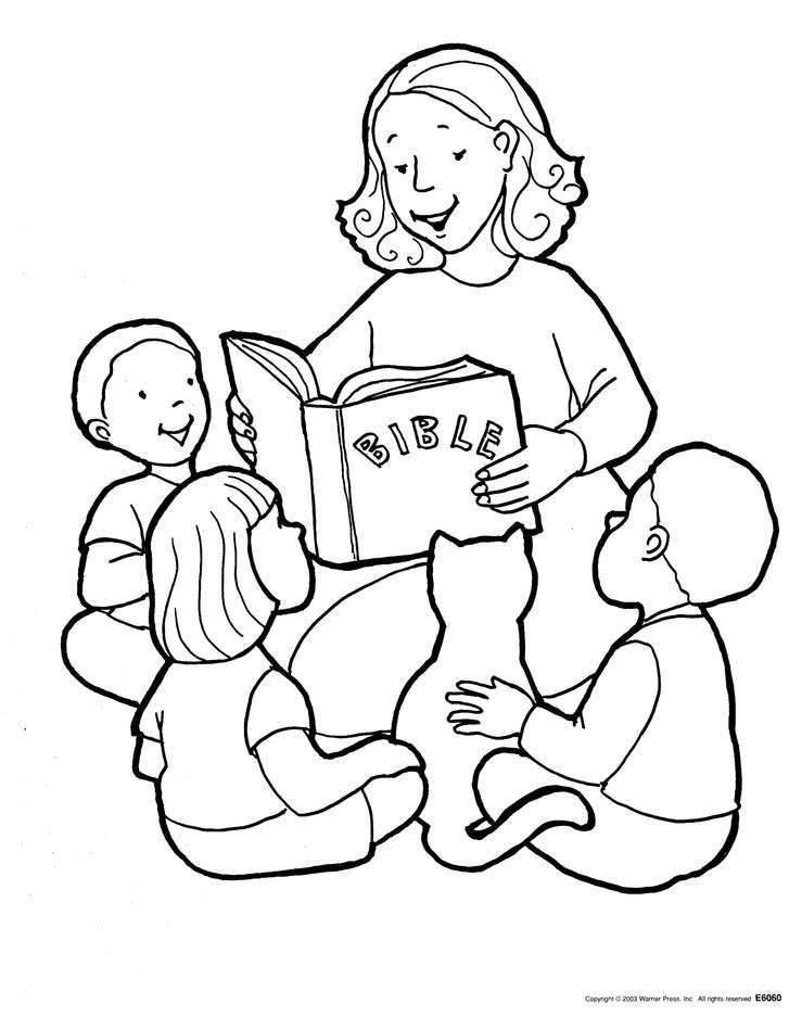 Mewarnai Alkitab : mewarnai, alkitab, Mewarnai, Gambar, Sekolah, Minggu