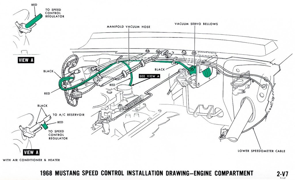 18 New 1967 Mustang Alternator Wiring Diagram