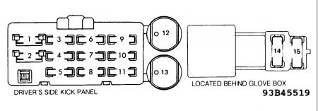 Circuit Electric For Guide: 2007 toyota 4runner fuse box