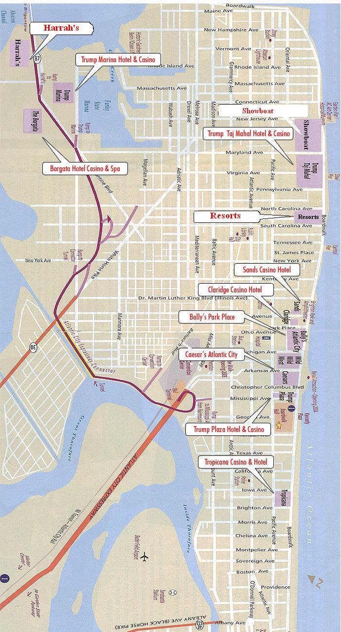 Map Of Atlantic City Casino : atlantic, casino, Casino, Atlantic, World, Atlas
