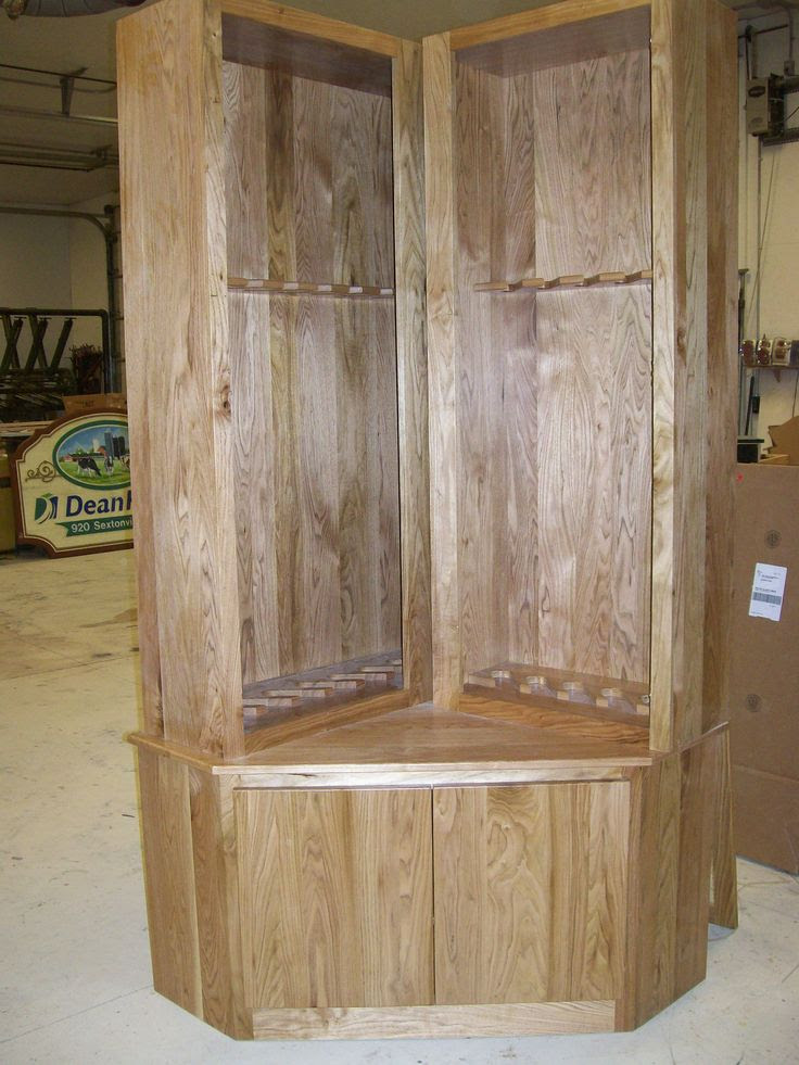 plans for coffee table gun cabinet