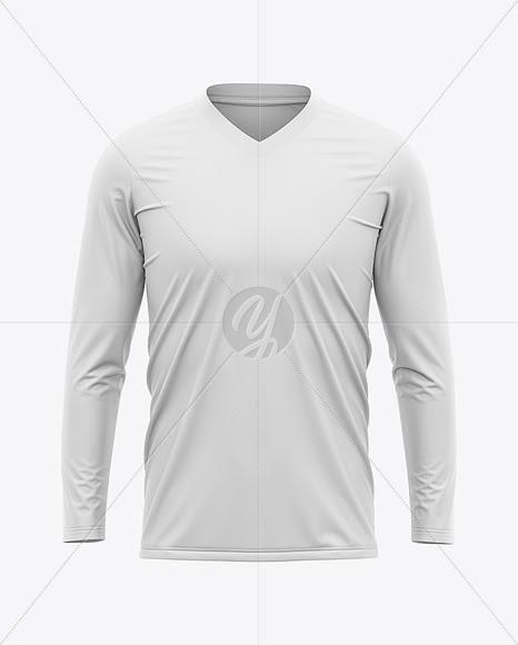 Template Kaos Lengan Panjang : template, lengan, panjang, Download, Gratis, Shirt, Mockup, Lengan, Panjang, Premium, Templates, Design, Assets