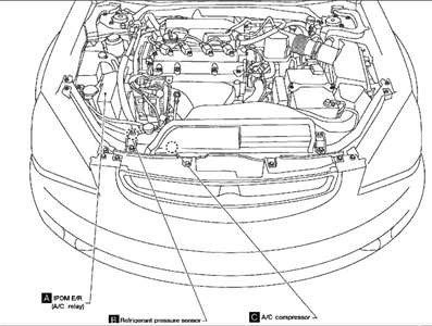 Nissan Altima 2006 Engine Diagram