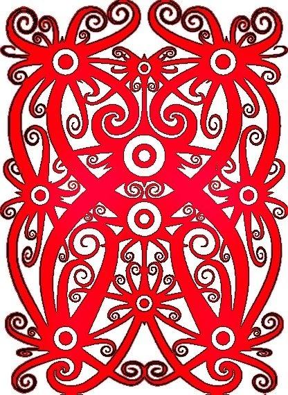 Batik Kalimantan Timur Yang Mudah Digambar : batik, kalimantan, timur, mudah, digambar, Motif, Batik, Kalimantan, Simple