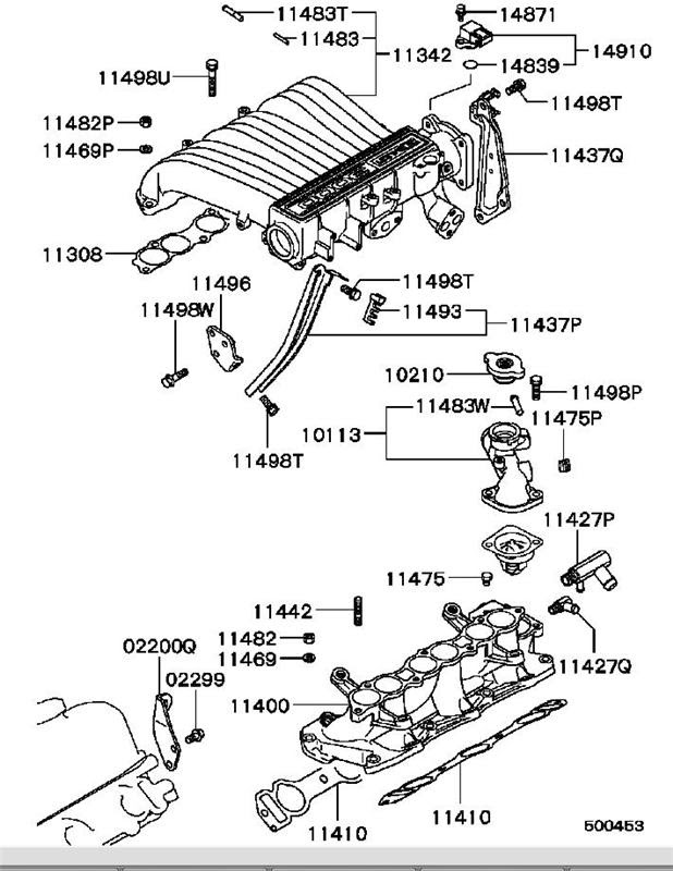 Mitsubishi 3000gt Engine Diagram