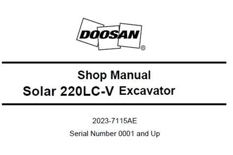 Free Download doosan daewoo solar 220lc v excavator