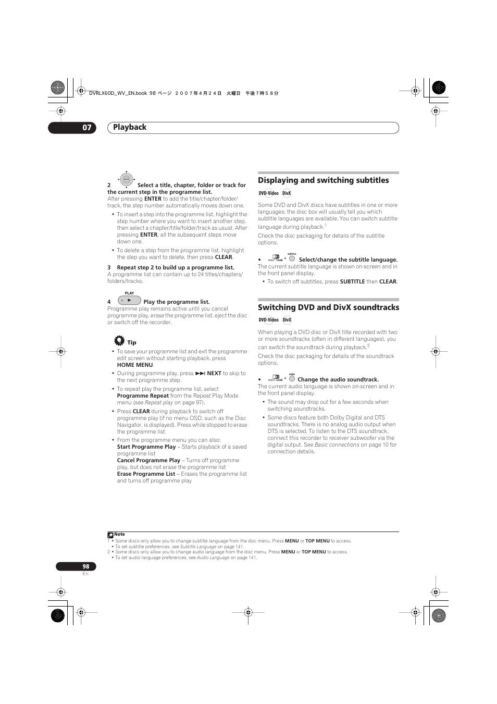 Bestseller: Pioneer Dvr Lx60d Manual