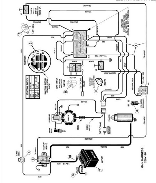 21 Luxury Murray Lawn Mower Ignition Switch Wiring Diagram