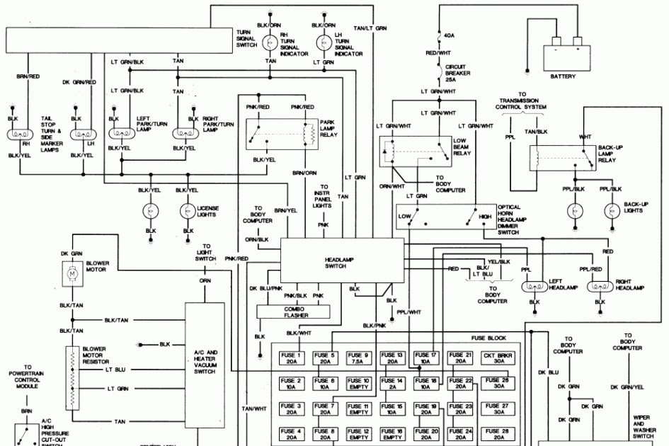 Wiring Diagram PDF: 2003 Crysler Town And Country Wiring
