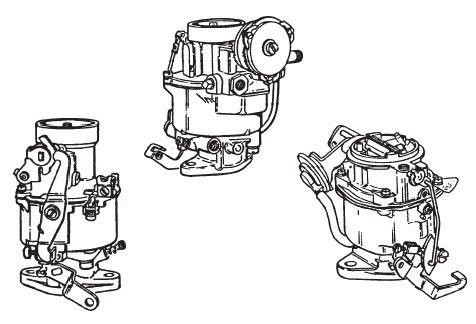 Wiring Diagram Database: Rochester 1 Barrel Carburetor Diagram