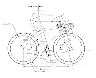 back40 bicycleworks: Frame Layout