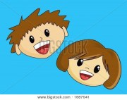 brown hair boy cartoon
