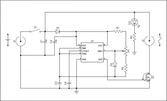 Circuit Diagram Dew Heater Controller For Telescope using