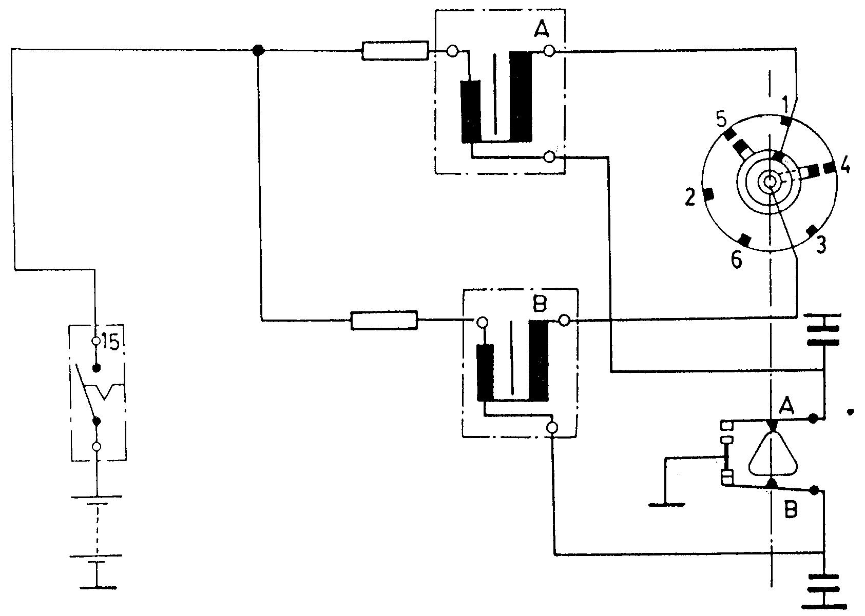 Gambar Wering Diagram Sistem Penerangan Sepeda Motor Honda