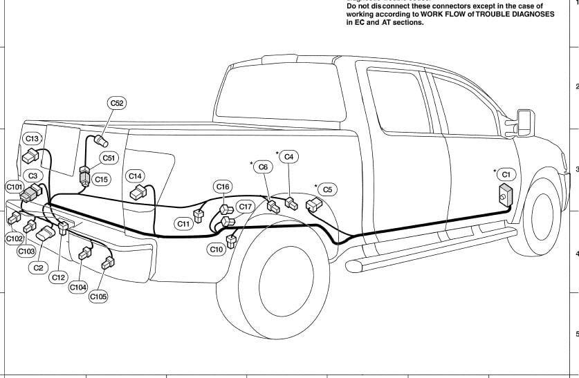 2005 Nissan Frontier Trailer Wiring Harnes