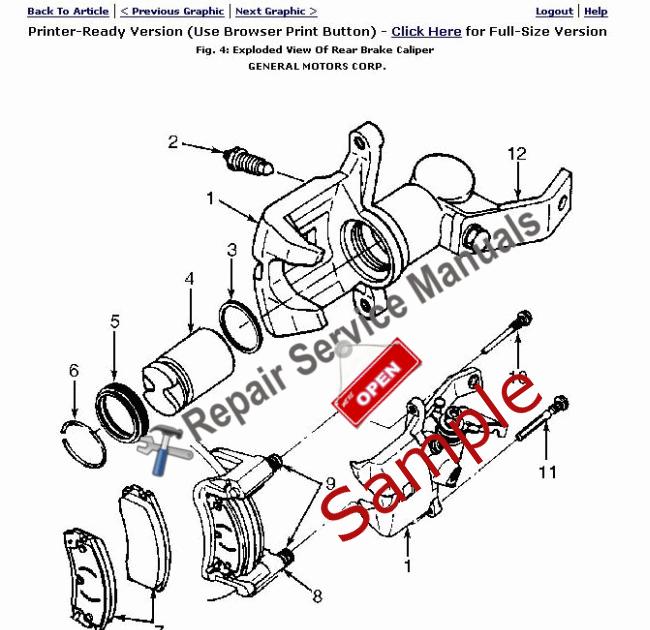 Wiring Schematic 2000 Pontiac Bonneville / Pontiac