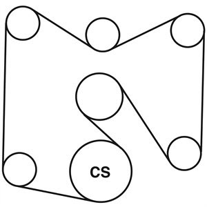 Wiring Diagram: 35 Ford F250 Serpentine Belt Diagram