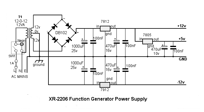 Hobby function generatorsProblem with capacitor after
