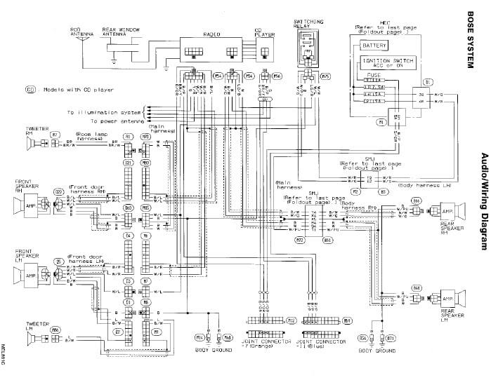 Wiring Diagram Panasonic Cq C1333u Car Radio Panasonic