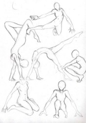 Full Body Poses Reference Drawing