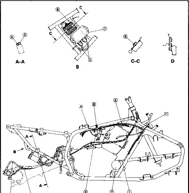 Yamaha 350 Atv Wiring Diagram : Yamaha Bruin 350 Wire