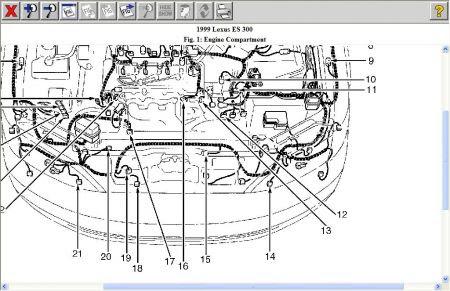 2002 Lexu Engine Diagram