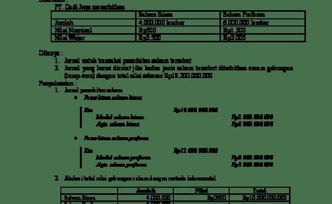 Kunci Jawaban Buku Akuntansi Keuangan Lanjutan 1 Dwi Martani Info Berbagi Buku Cute766