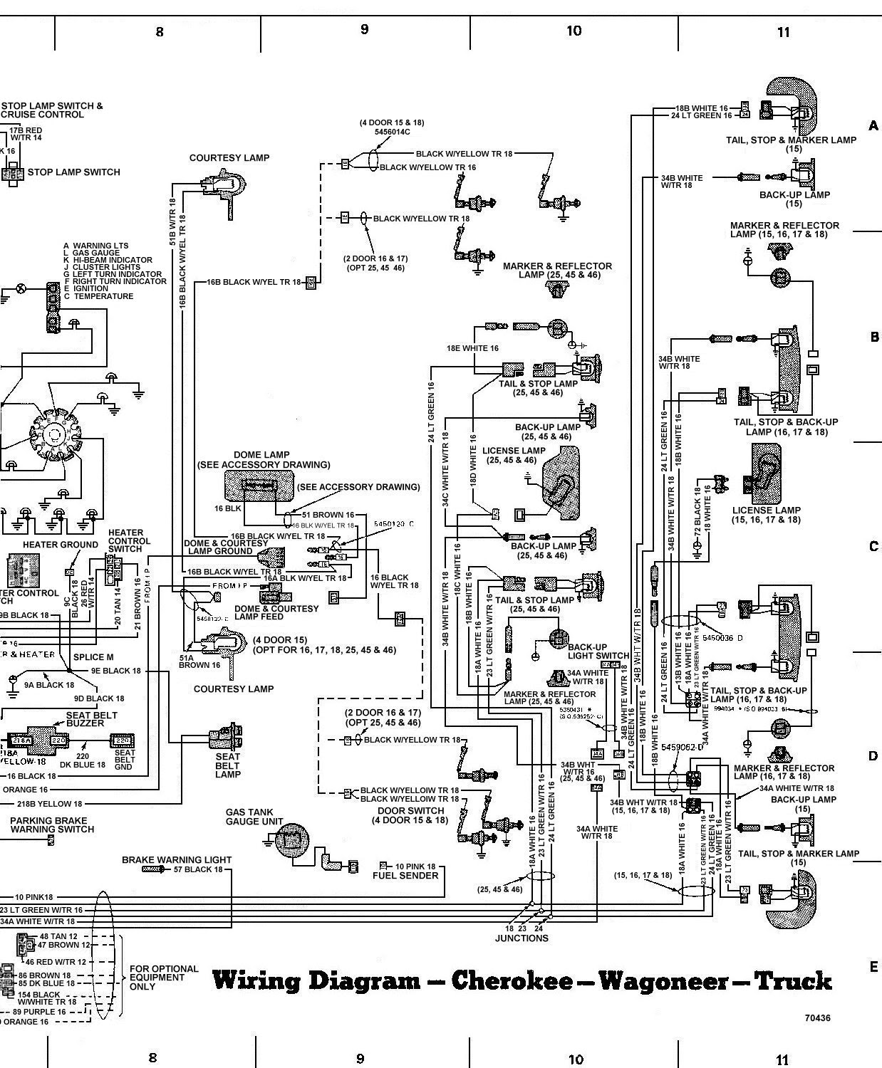 Wiring Diagram Source: 2004 Jeep Grand Cherokee Door