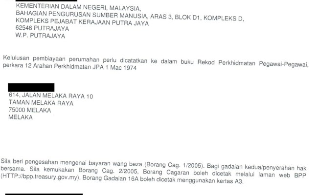 Contoh Surat Rasmi Sokongan Ketua Kampung Surat 31 Cute766