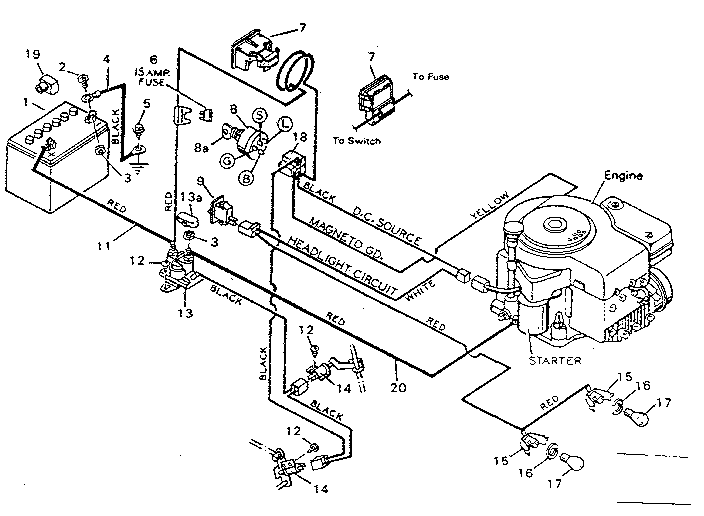 18 Hp Murray Riding Mower Wiring Diagrams