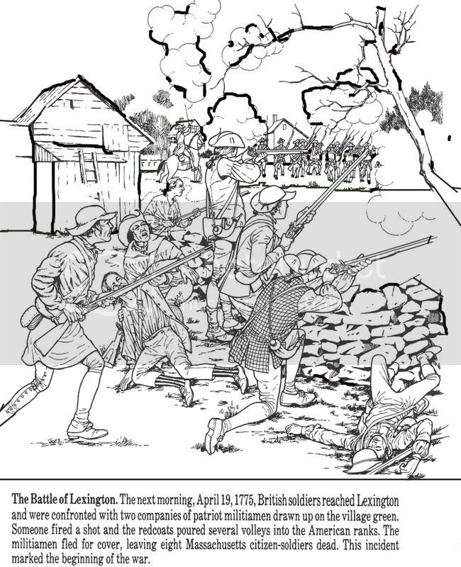 All Things John Adams: Coloring Pages: Nathan Hale And The