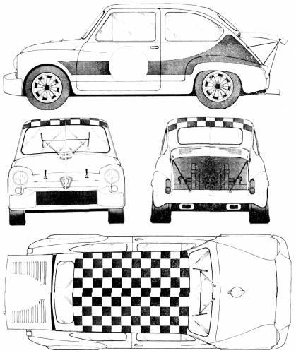 1967 pontiac gto fiat 500 race car pontiac chieftain honda