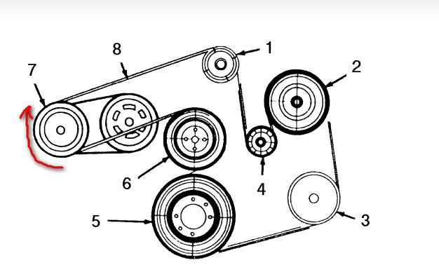 Wiring Diagram: 32 2003 Mercury Sable Belt Diagram
