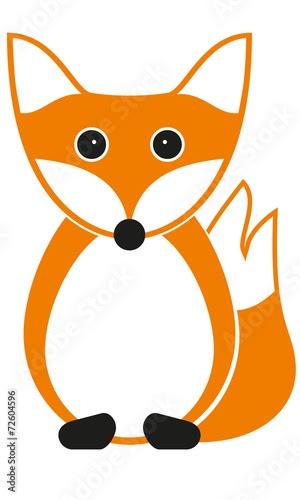 Malvorlage Fuchs Einfach  Tiere Malen Fuchs - Tier Malen